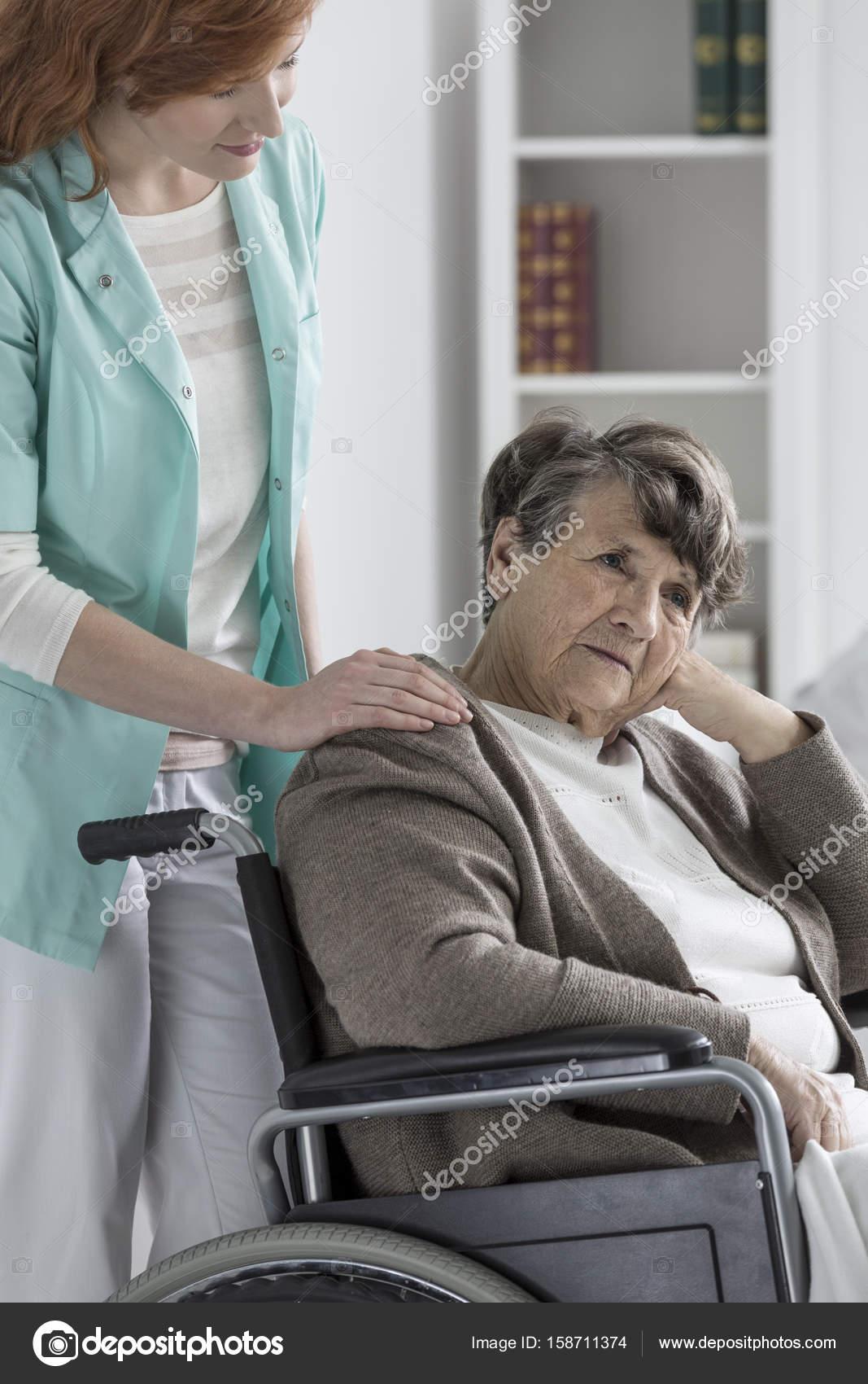 Old Lady Massage