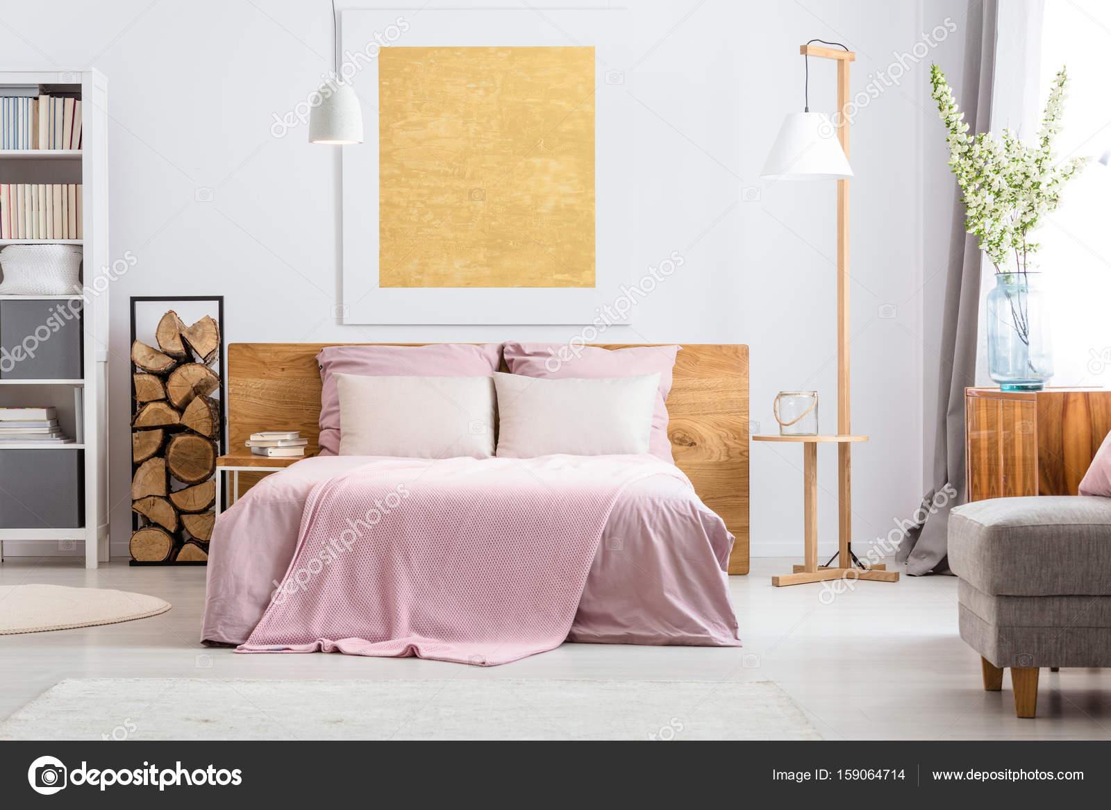 Camera Da Letto Legno Naturale : Letto camera da letto idee per larredamento foto tempo libero