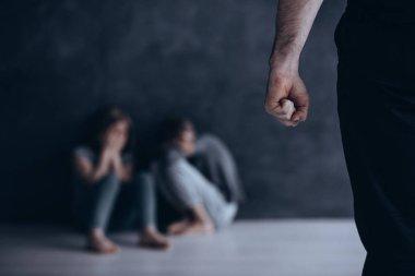 Using fist against children