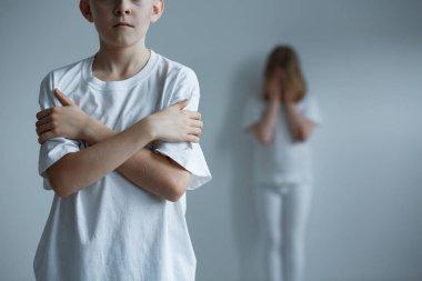 Horrible childhood of abused children