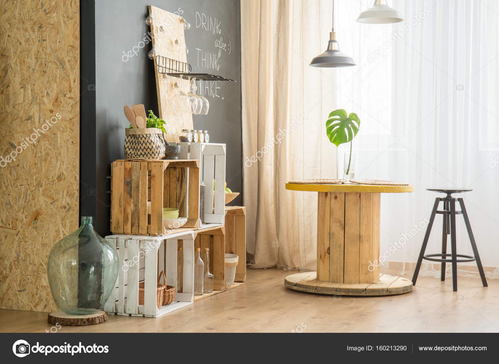 Einzigartig Diy Möbel Das Beste Von Diy-möbel Aus Holzkisten In Trendige Öko-café —