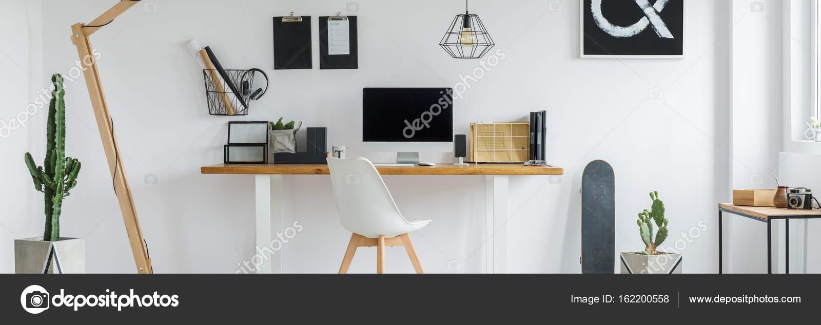 Depositphotos & Minimalist home office \u2014 Stock Photo © photographee.eu ...