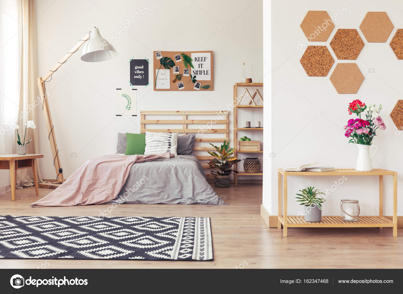 Modern Nature Inspired Home Decor Stock Photo C Photographee Eu