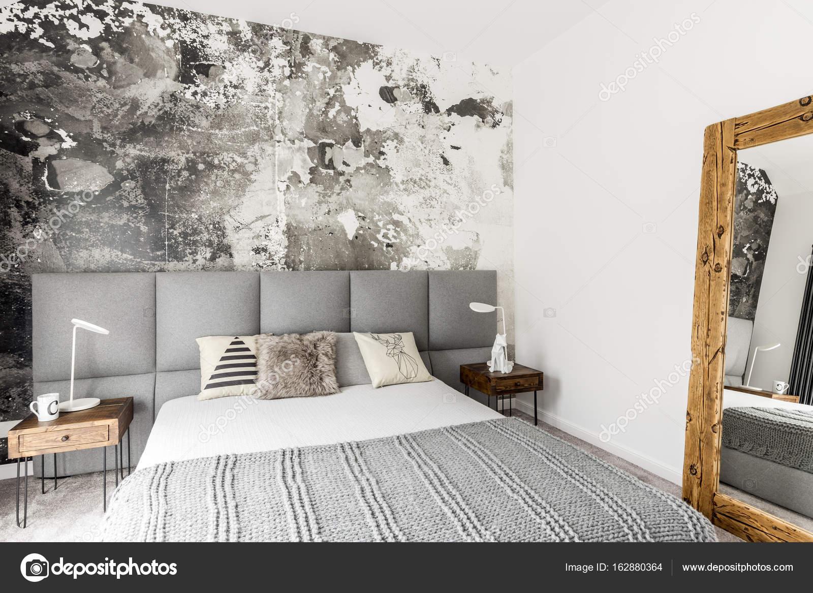 Yatak Odasında Rustik Dekorasyon