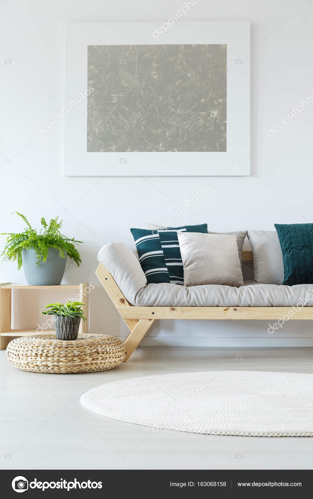 Natural Minimalist Home Decor Mock Up Stock Photo C Photographee