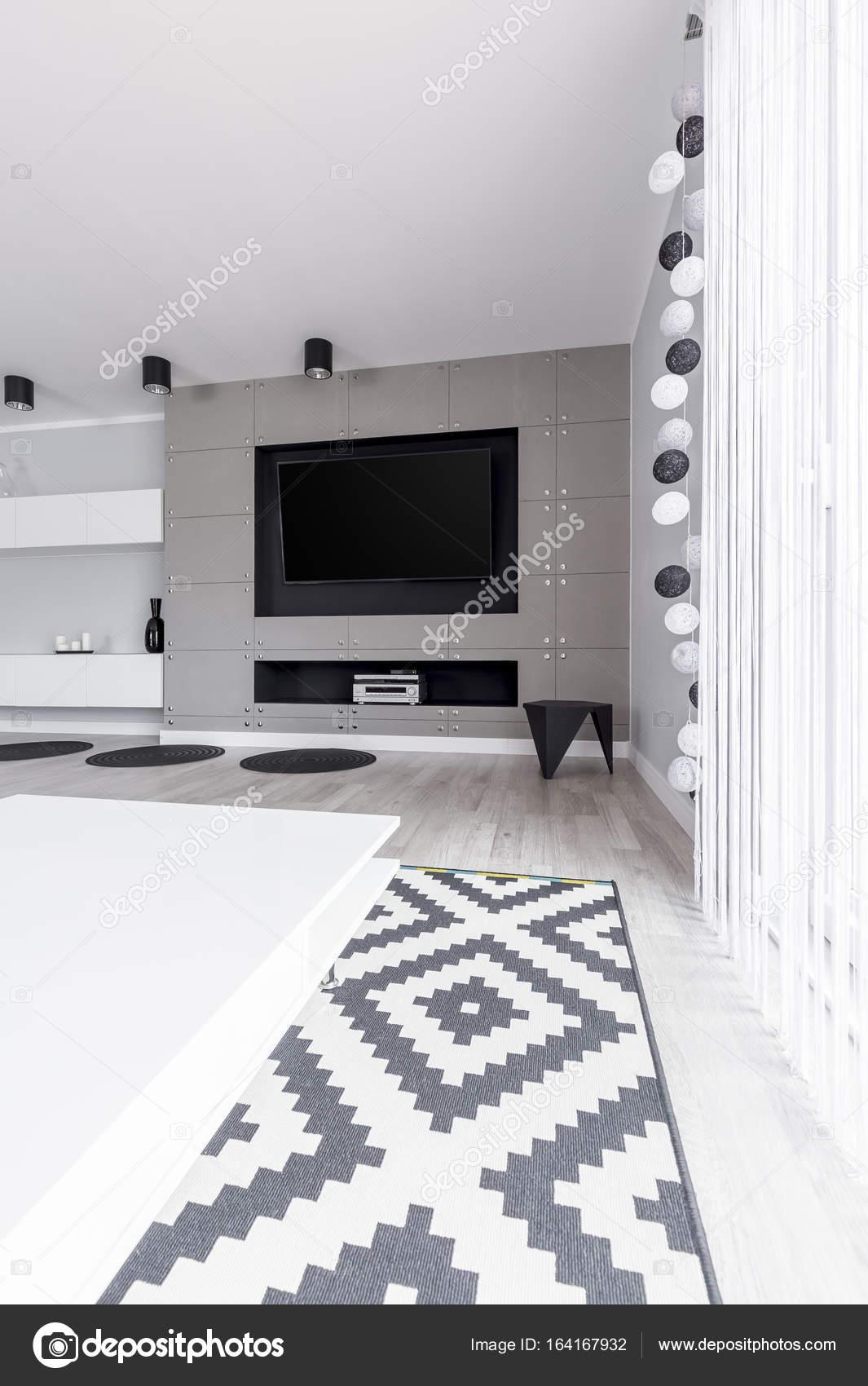 Fun decorated living room — Stock Photo © photographee.eu #164167932