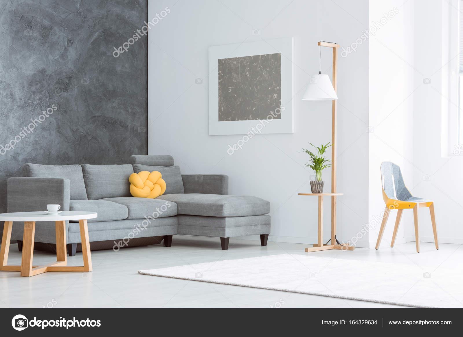 Soggiorno spazioso con pittura — Foto Stock © photographee.eu #164329634