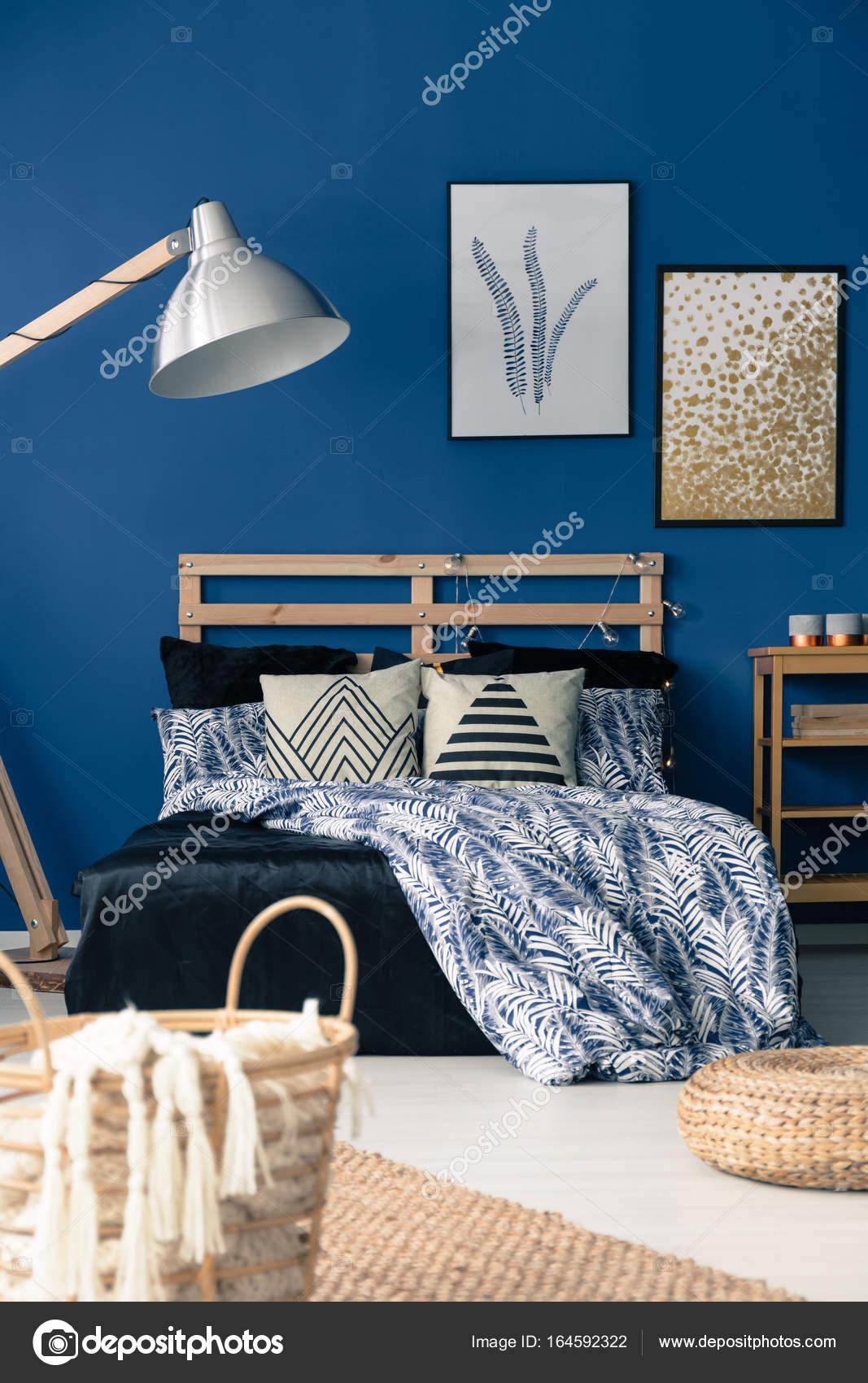 Inspiriert Von Mediterranen Stil Schlafzimmer U2014 Stockfoto