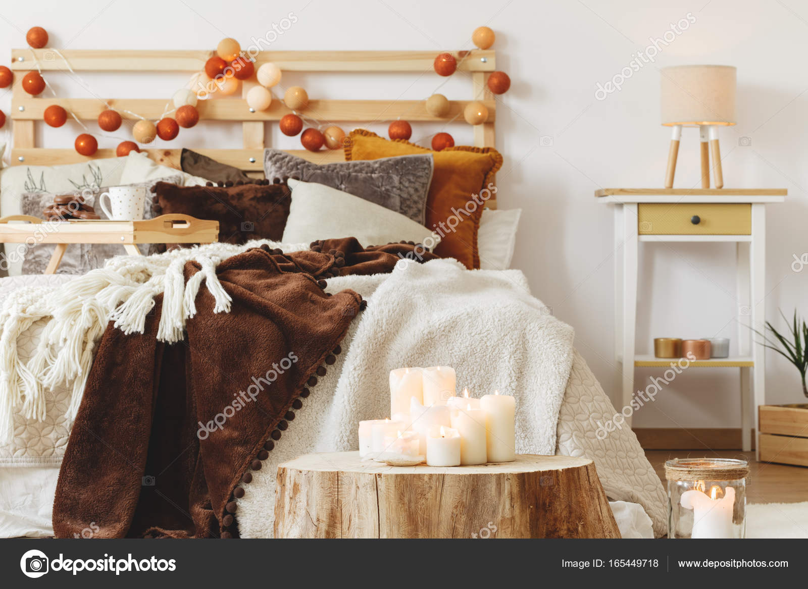 Candele Camera Da Letto : Candele in camera da letto u foto stock photographee eu