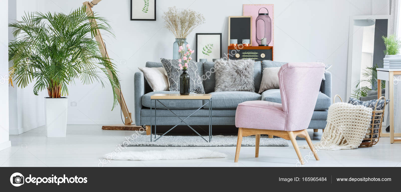 Retro pastel interior — Stockfoto © photographee.eu #165965484