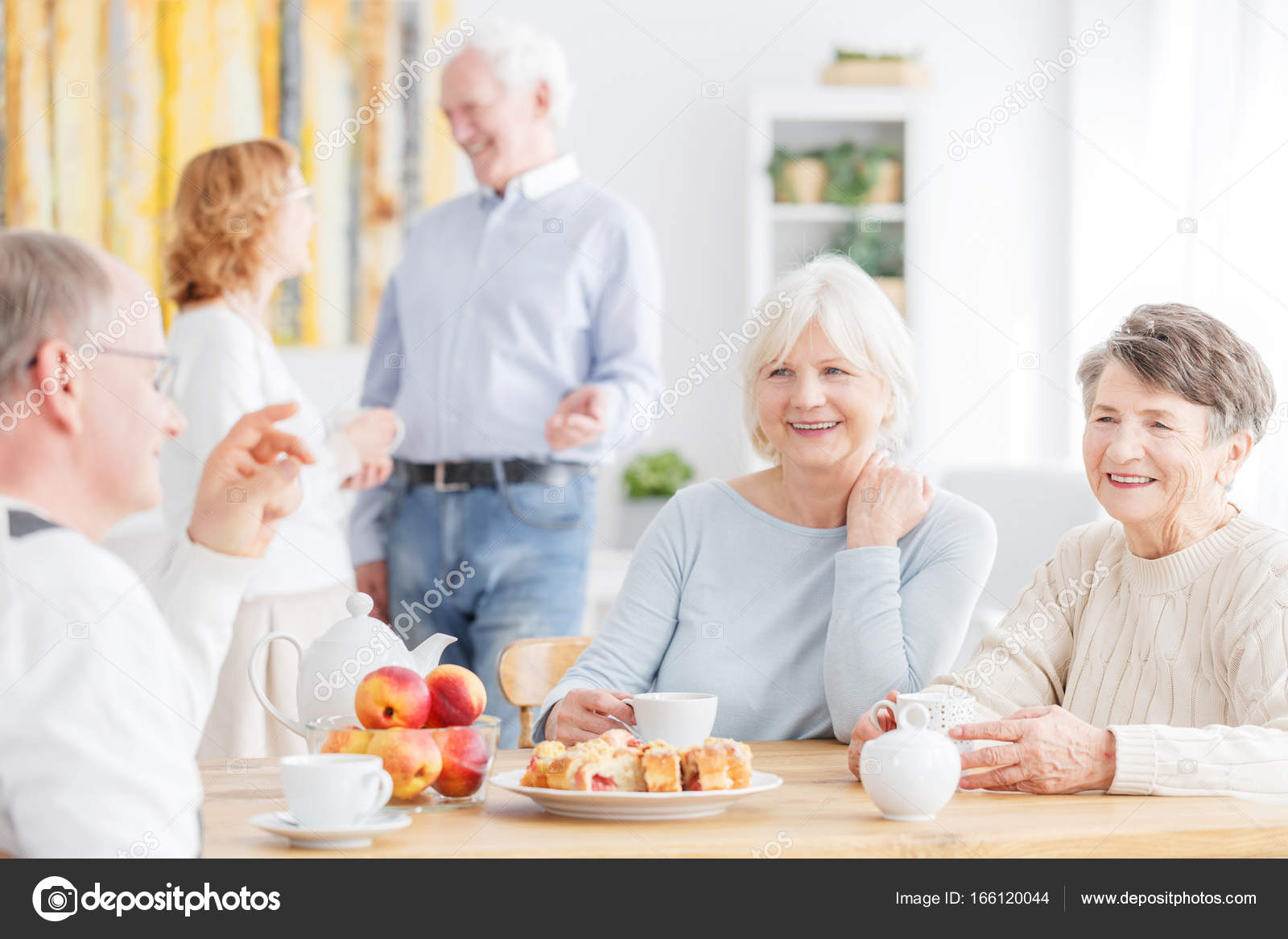 Senior People At Nursing Home Stock Photo C Photographee Eu 166120044