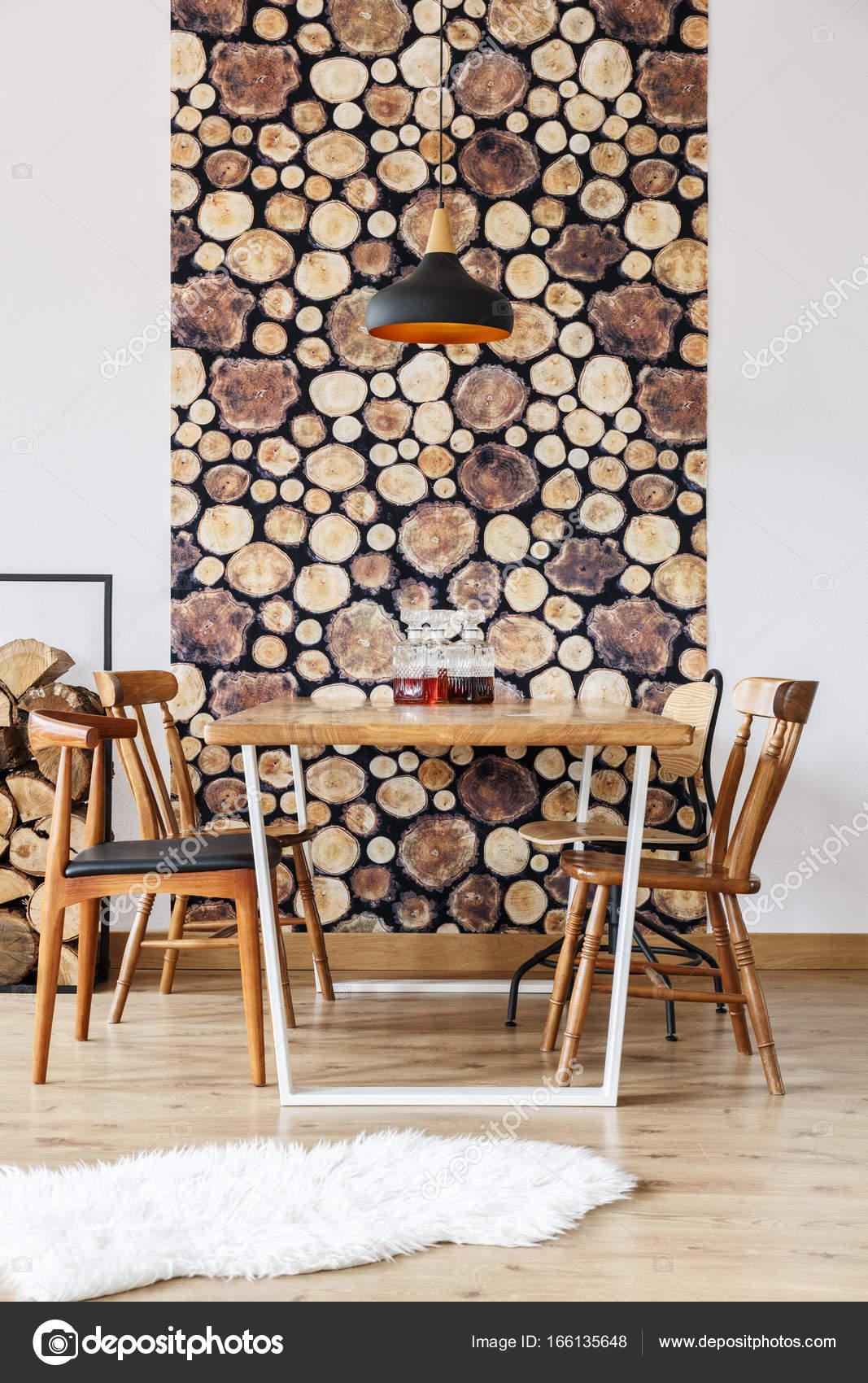 Comedor rústico y madera — Fotos de Stock © photographee.eu #166135648