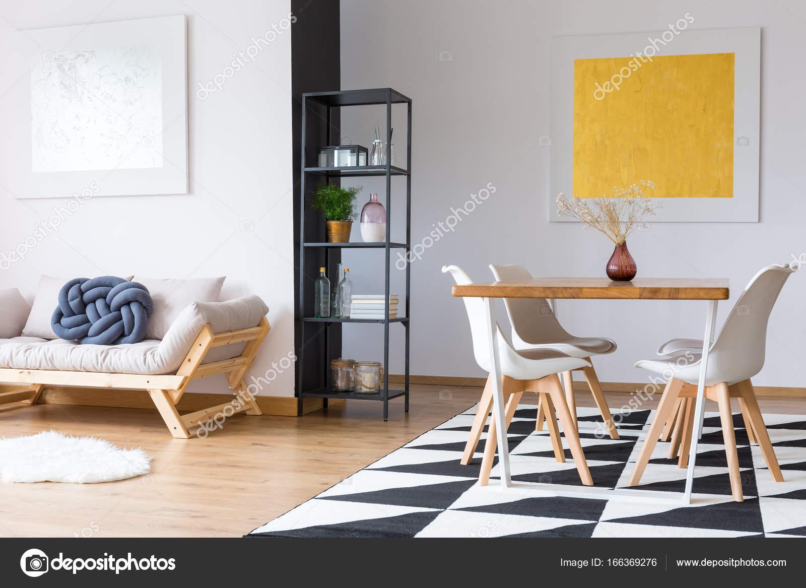 Paintings In Modern Dining Room Stock, Dining Room Paintings