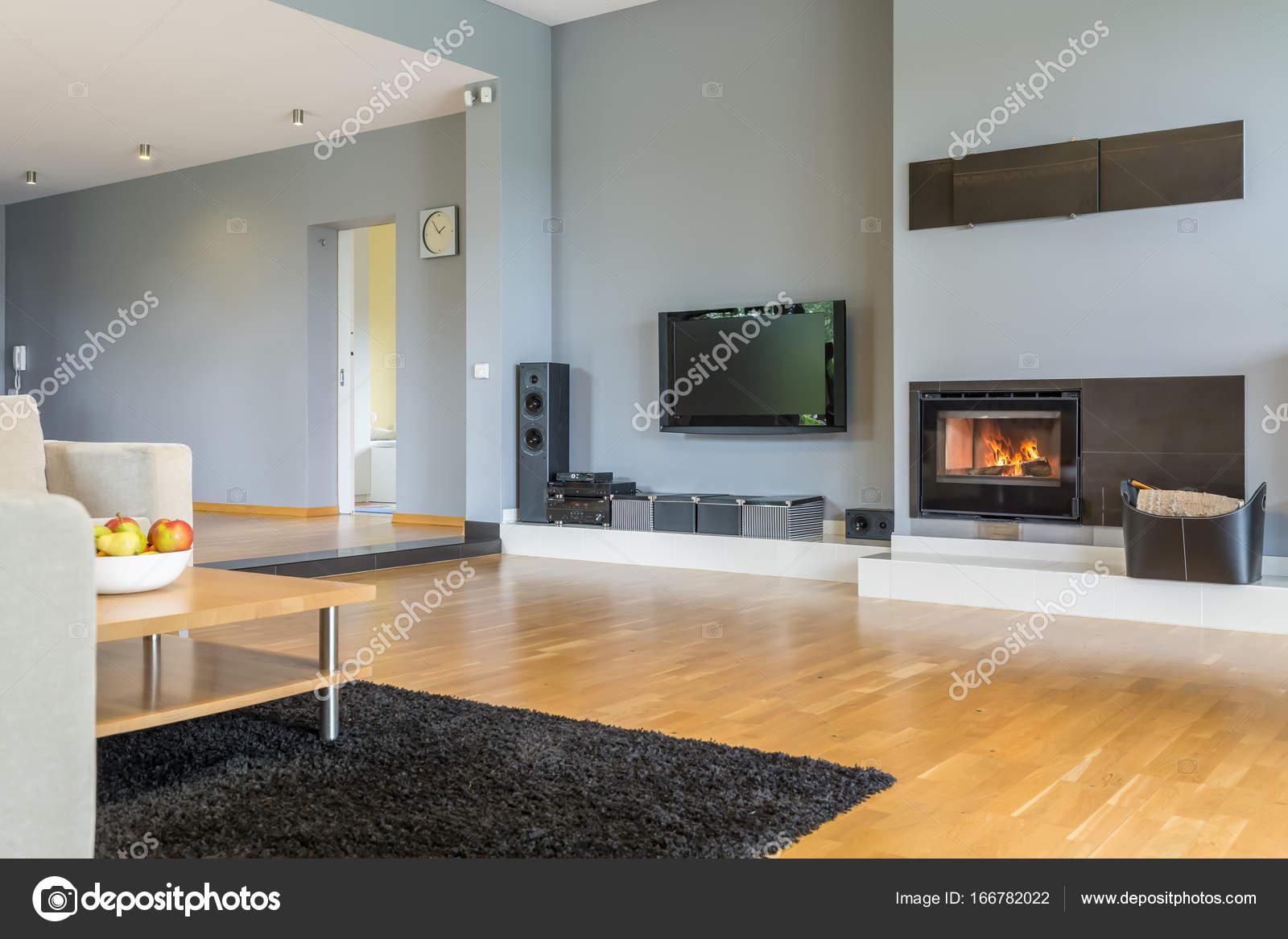 Stylische große Wohnzimmer — Stockfoto © photographee.eu ...