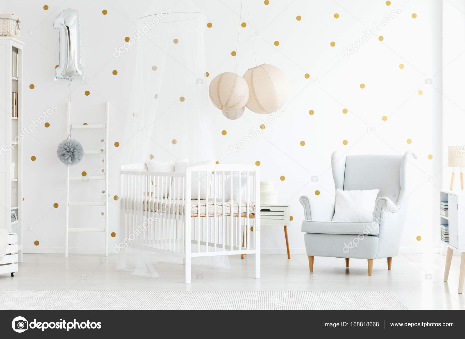 Gemutliche Kinder Schlafzimmer Innenraum Stockfoto