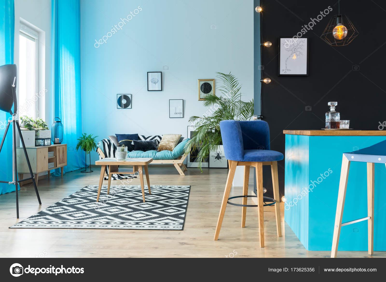 Soggiorno con cucina annessa — Foto Stock © photographee.eu #173625356