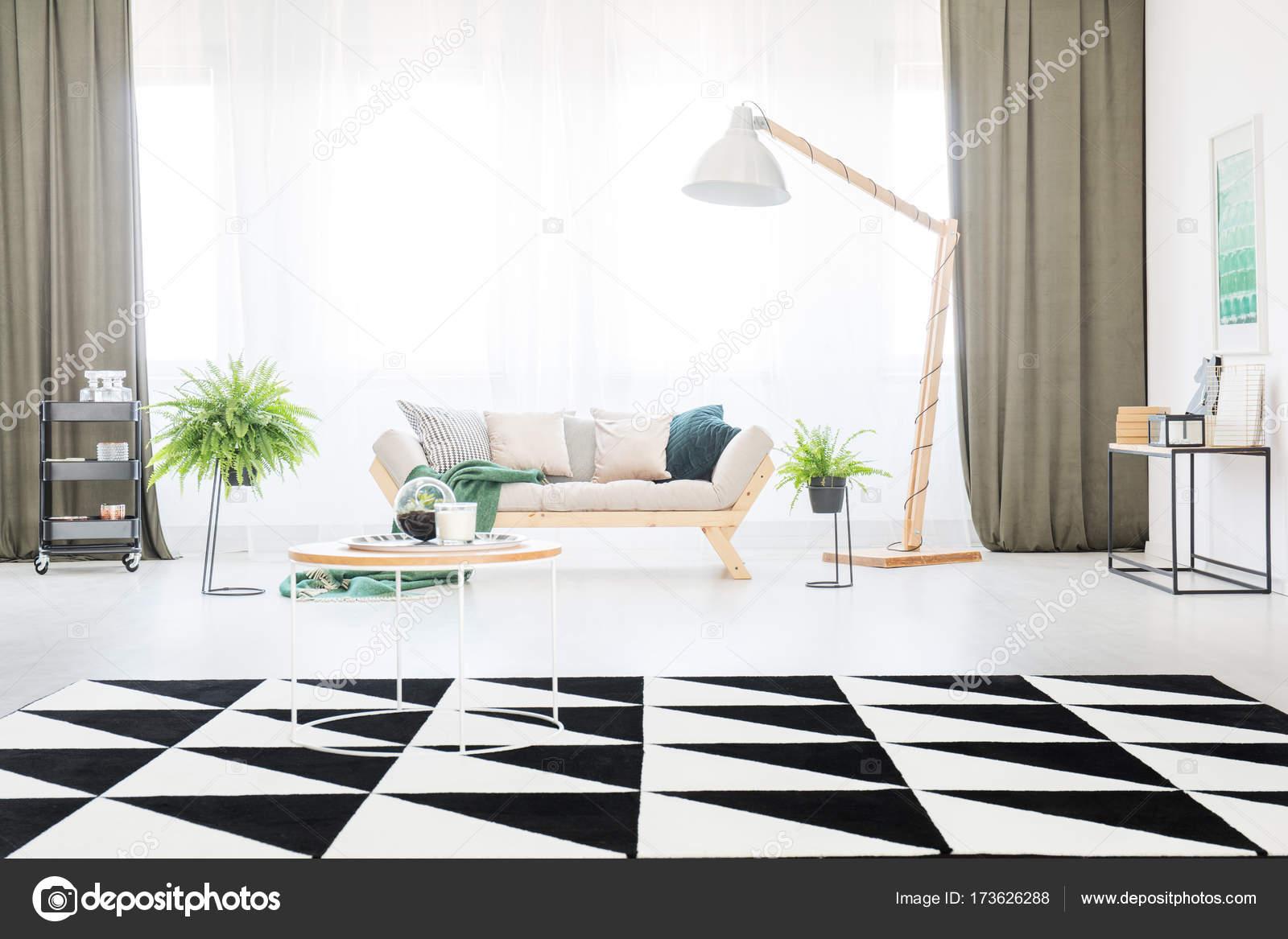 Tapijt In Woonkamer : Tapijt in de lichte woonkamer u stockfoto photographee eu