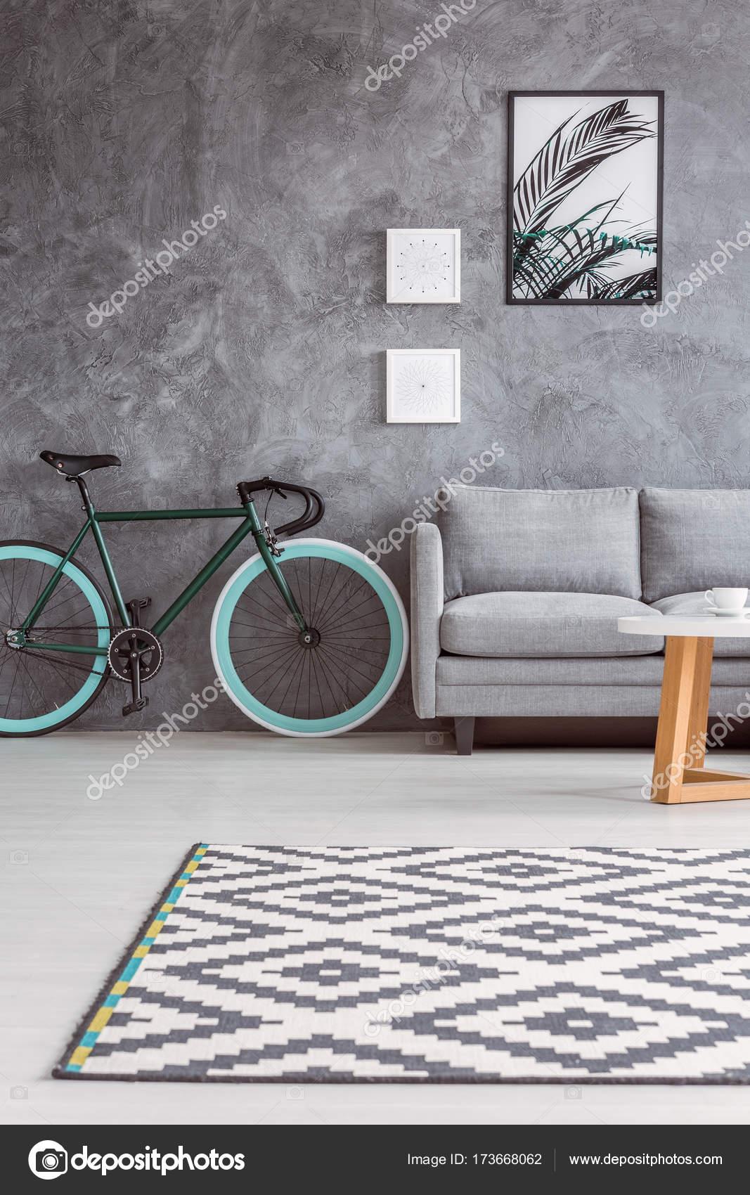 Sof Cinza E Elegante Bicicleta Stock Photo Photographee Eu