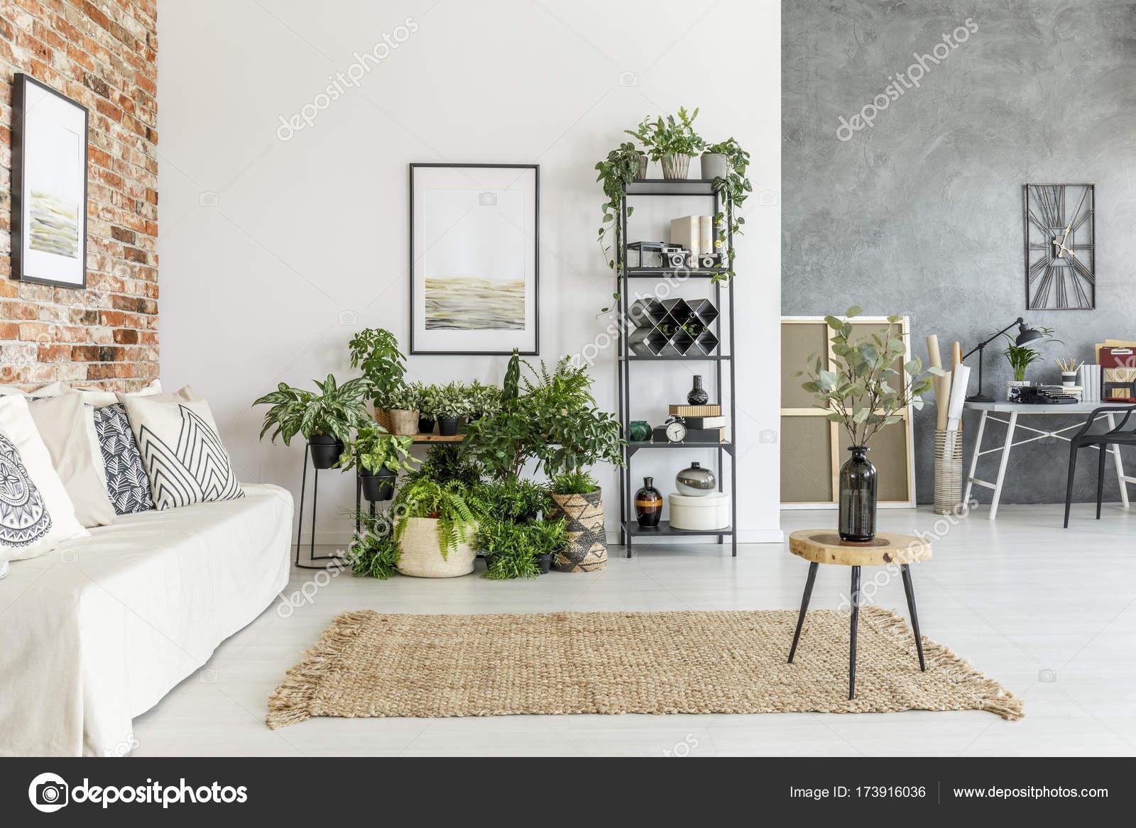 Moderne offene Raum Wohnzimmer — Stockfoto © photographee.eu #173916036