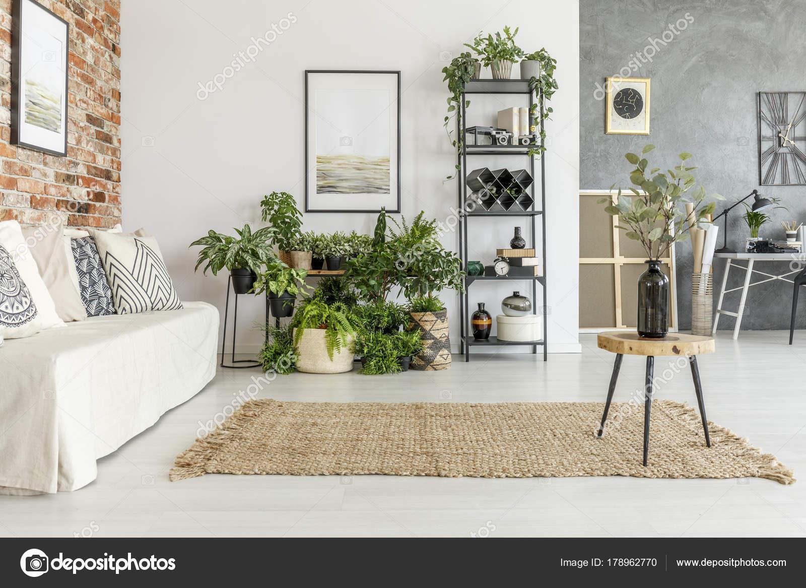 Pittura nel luminoso soggiorno — Foto Stock © photographee.eu #178962770