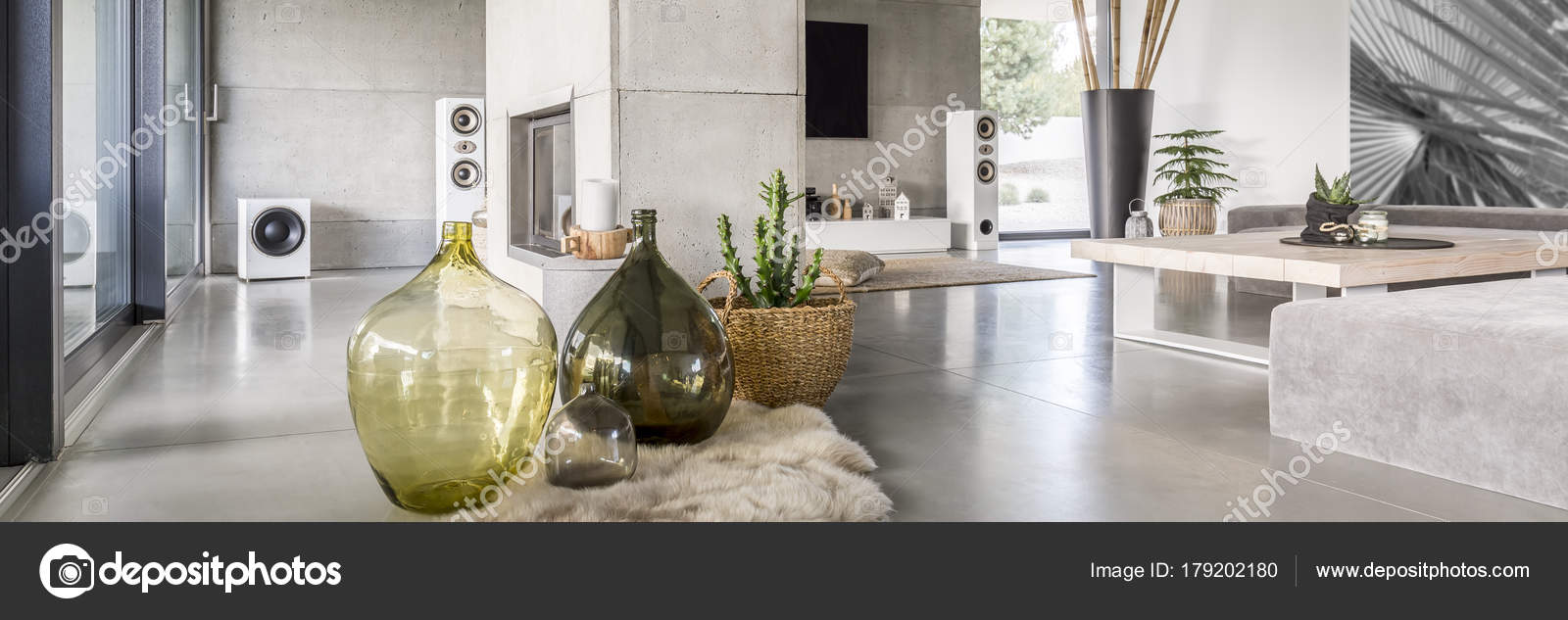 Dekorative Wohnzimmer — Stockfoto © photographee.eu #179202180