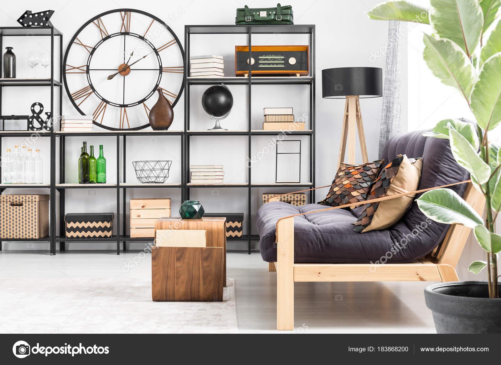Wohnzimmer Innenraum Mit Radio Stockfoto C Photographee Eu