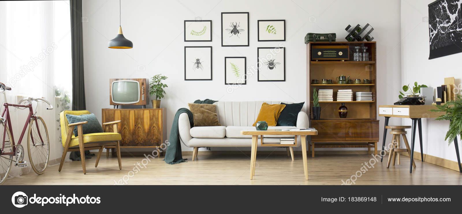 Retro Wohnzimmer Design Stockfoto C Photographee Eu 183869148