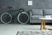 Tmavá obývací pokoj s kole