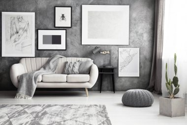 Gallery of artworks living room