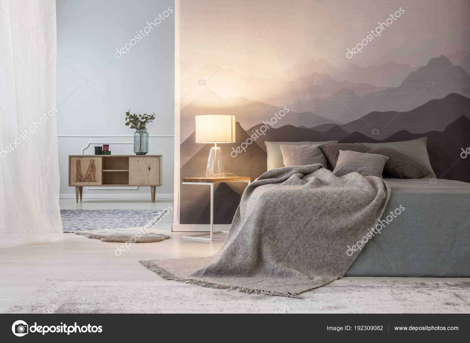 Most Inspiring Wallpaper Mountain Bedroom - depositphotos_192309082-stock-photo-mountain-lovers-open-space-bedroom  You Should Have_397777.jpg