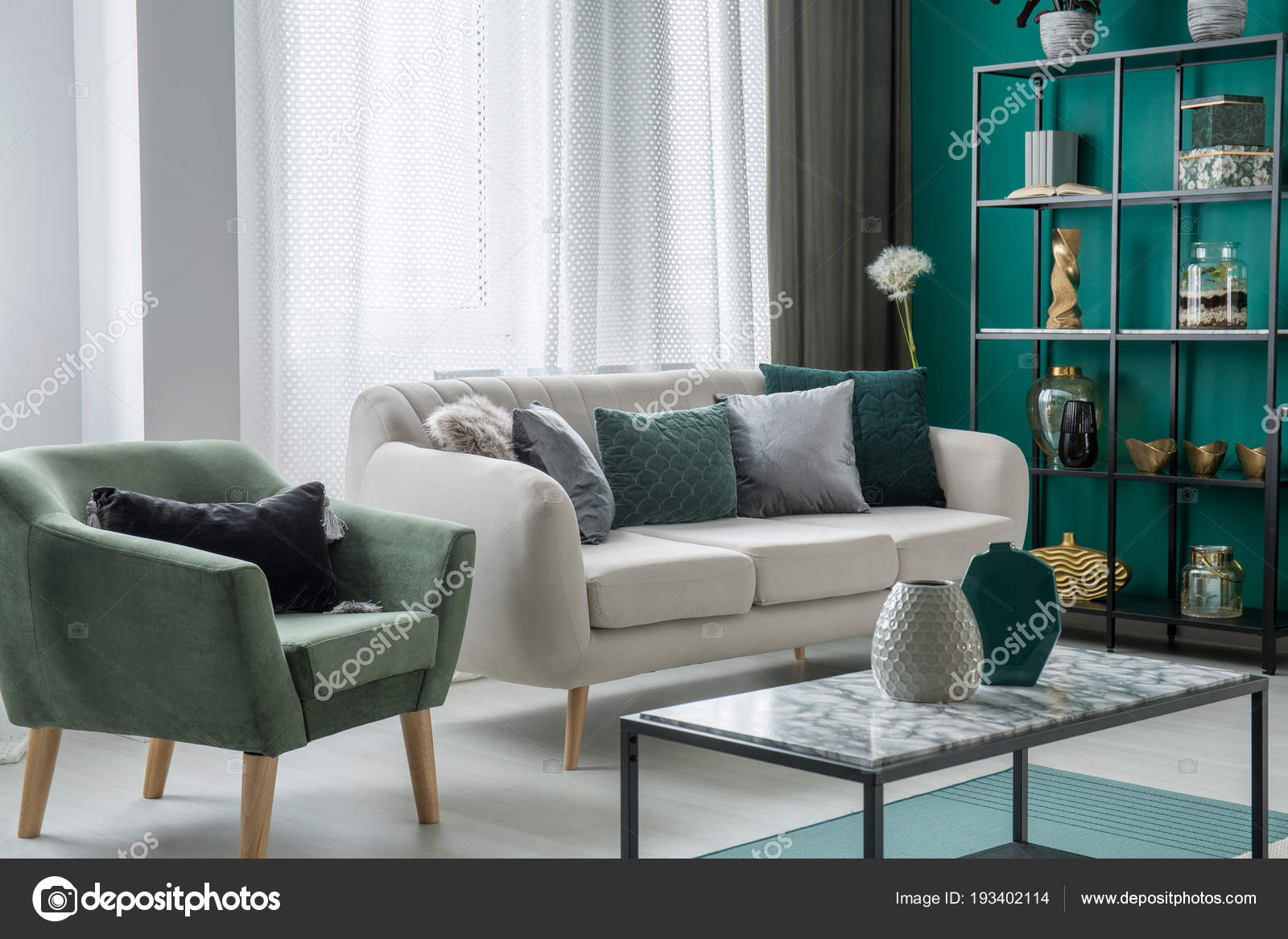 Terrific Green Silver Decorative Pillows Placed Light Grey Couch Dailytribune Chair Design For Home Dailytribuneorg