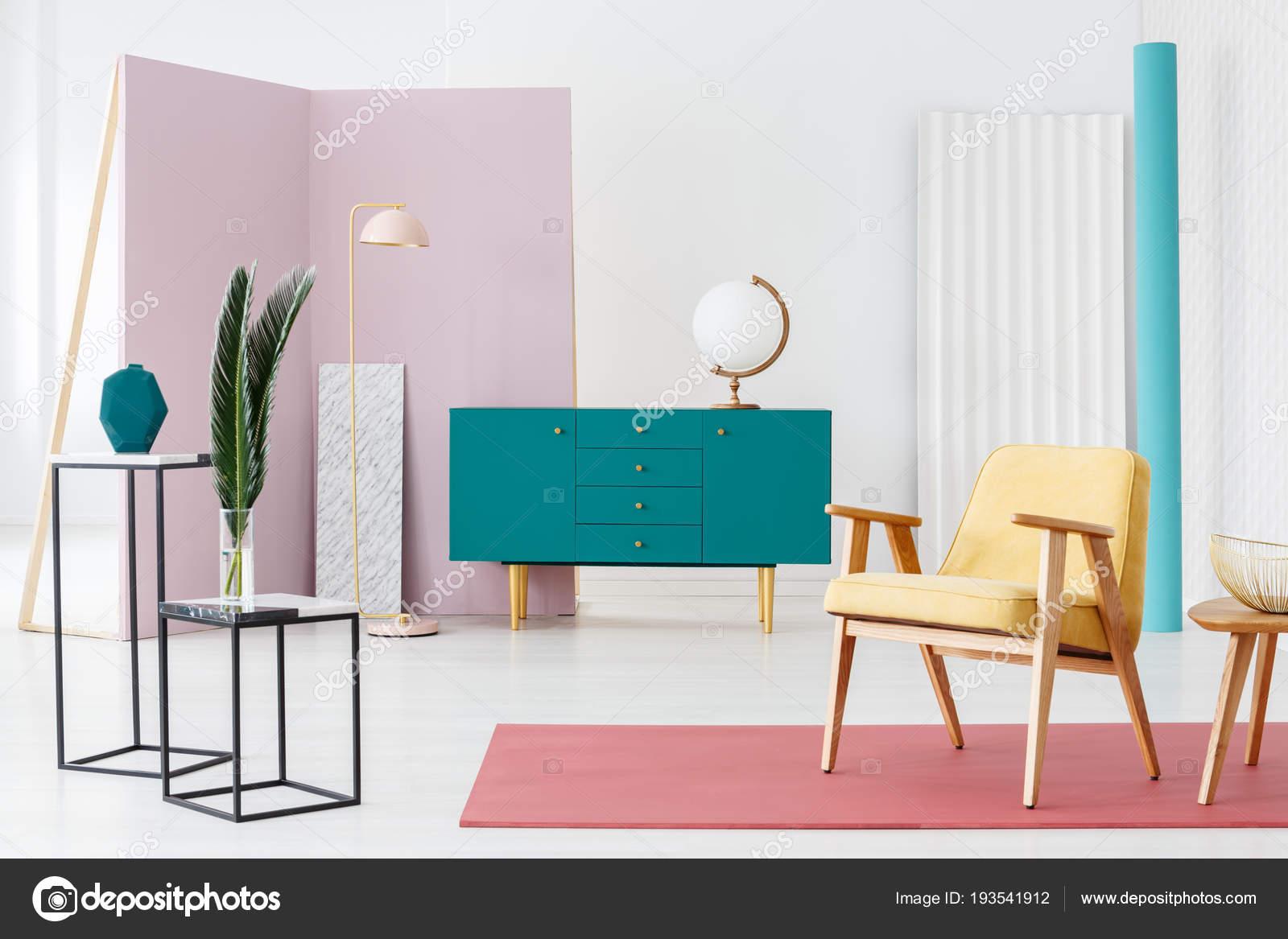 Inspiration Für Ein Designer Wohnzimmer Interieur Farbschema Mit ...