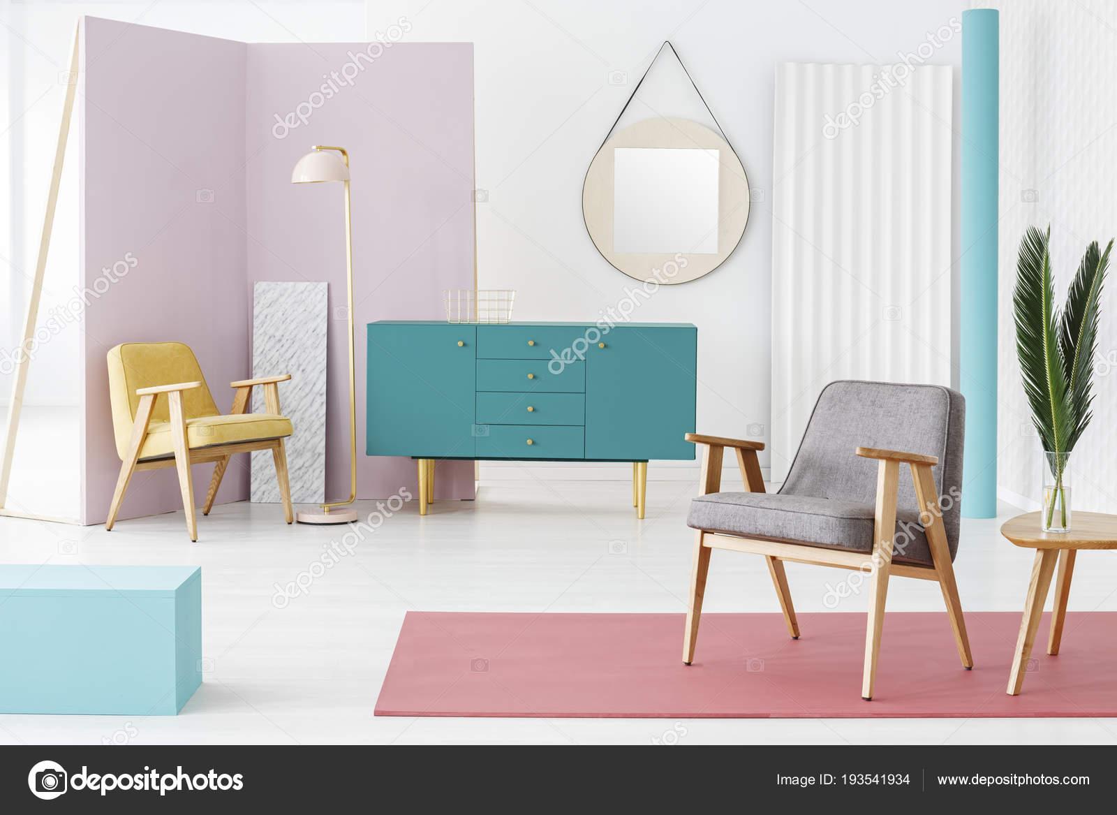 Idea Schema Colore Composizione Creativa Mobili Legno Interni ...