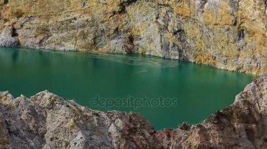 Kelimutu Lake. Indonesia. The lake of young souls and enchanted lake