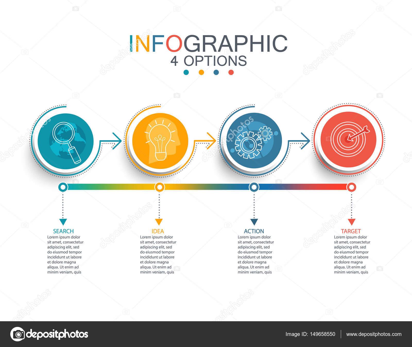 business infographic template stock vector tandav 149658550