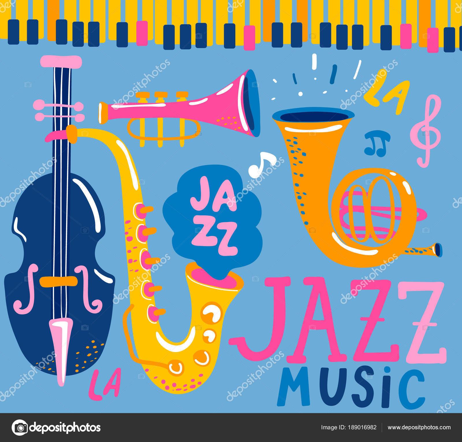 Plakat Dla Jazz Festiwal Muzyczny Muzyka Klasyczna