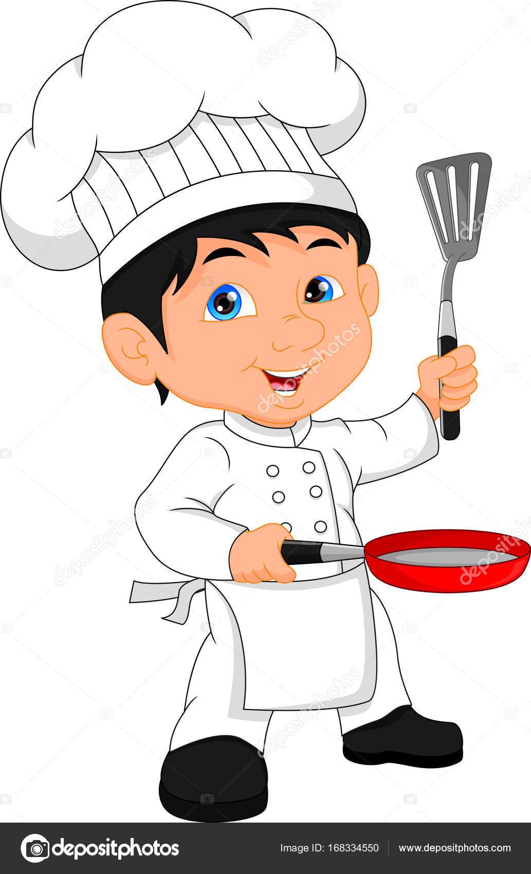 boy chef cartoon stock vector lawangdesign 168334550 rh depositphotos com chef cartoon maker chef cartoon images
