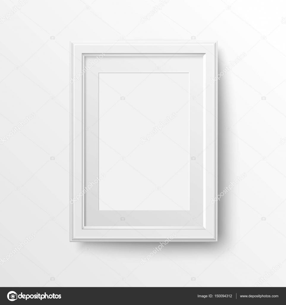 weißen Rahmen für Fotos — Stockvektor © Smartape #150094312