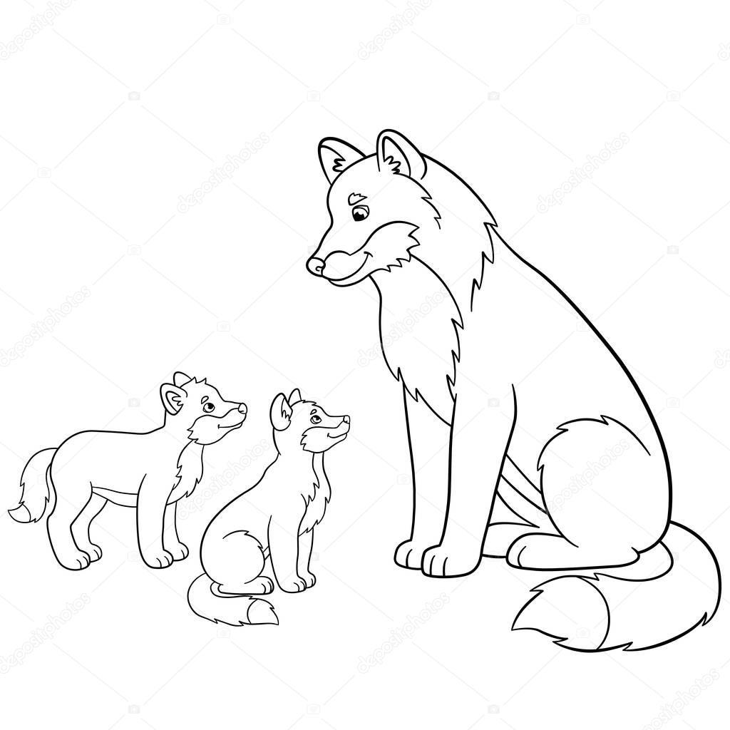 Fein Wolf Welpen Malvorlagen Fotos - Malvorlagen Von Tieren - ngadi.info