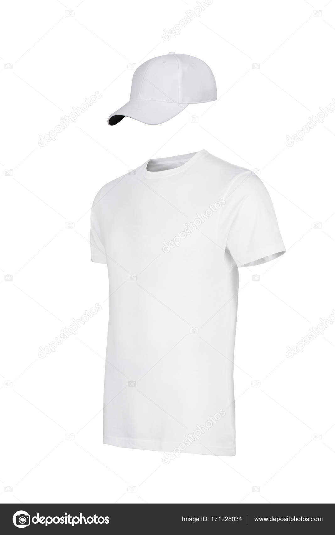 Unisex White T Shirt Template Stock Photo Inginsh 171228034