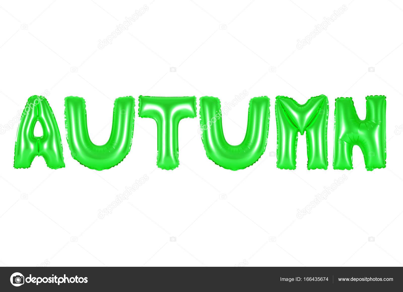 autumn, green color — Stock Photo © aquarius1983men #166435674