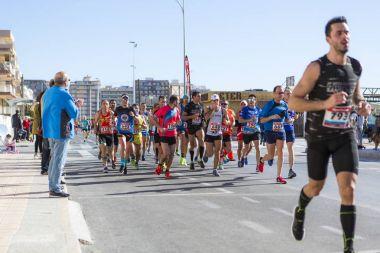 Santa Pola Half marathon 2018.