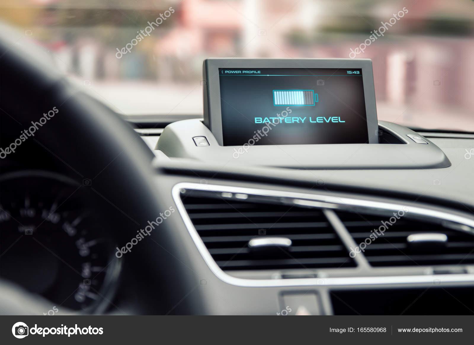 Informatie Over Het Niveau Van De Batterij In De Elektrische Auto