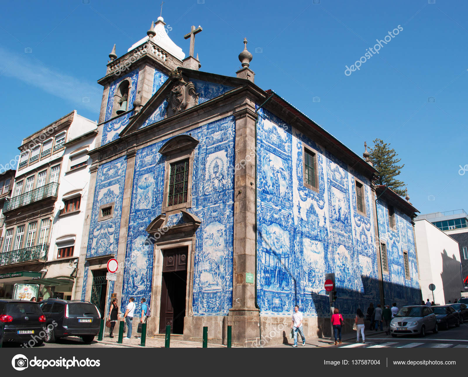 Portogallo capela das almas cappella delle anime o cappella