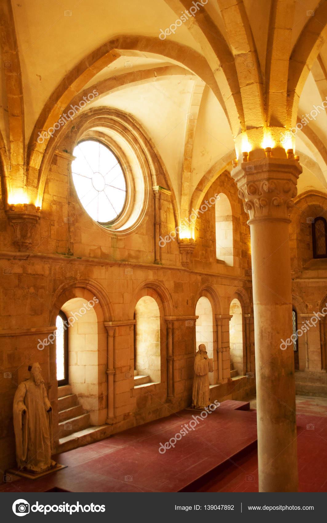 Portugal, mittelalterlichen katholischen Kloster Alcobaca: der ...