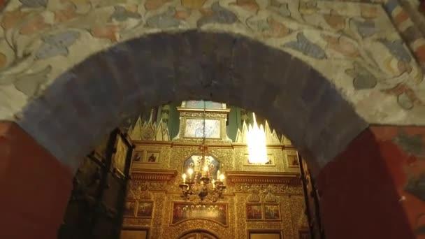 Moskva, Rusko. Kostel v katedrále St. Basil, postaven z 1555 1561 pořadí Car Ivan hrozný na památku dobytí Kazaně a Astrachaň