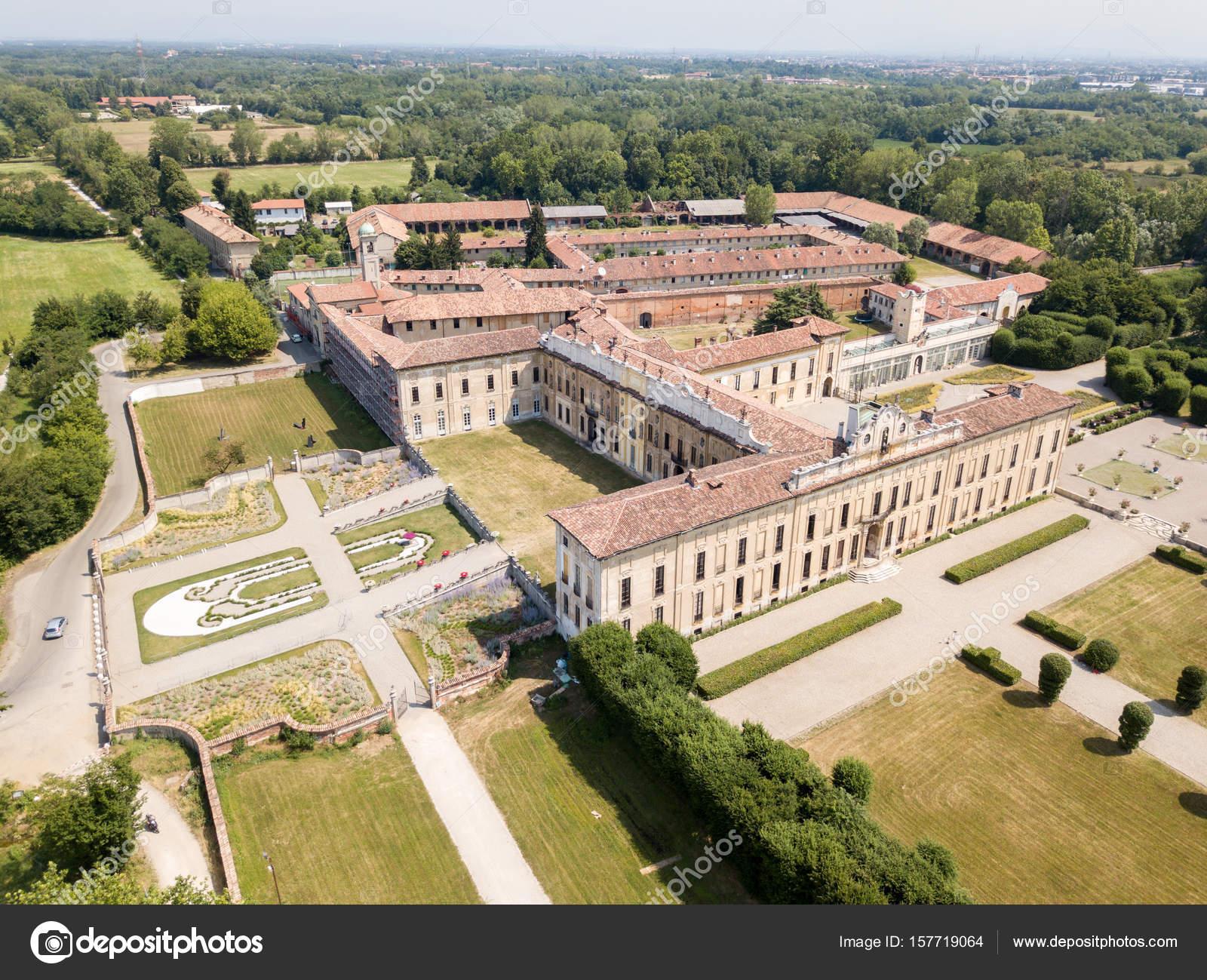 Villa Arconati Castellazzo Bollate Milan Italy Aerial