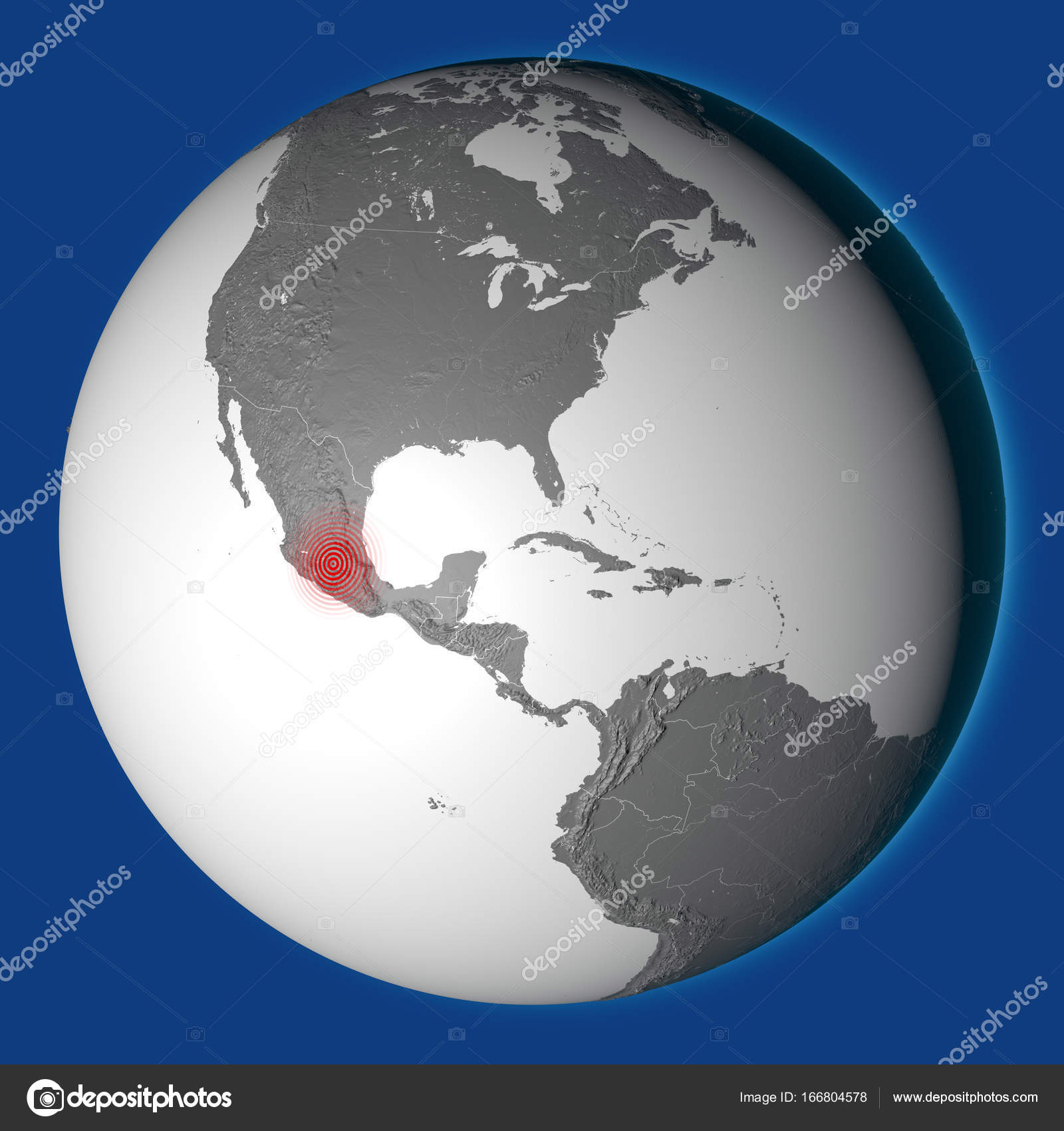 Globe map mexico city shock wave earthquake mexico stock photo globe map mexico city shock wave earthquake mexico photo by vampy1 gumiabroncs Images