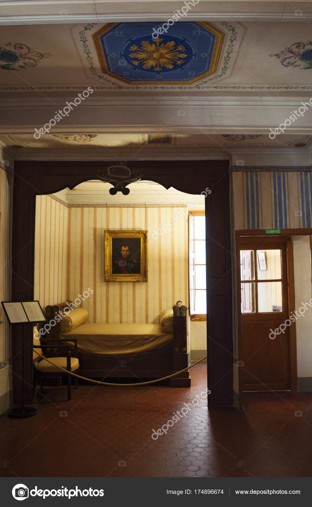 Ajaccio Corse 2017 Musée Nationale Maison Bonaparte Vue Alcôve ...