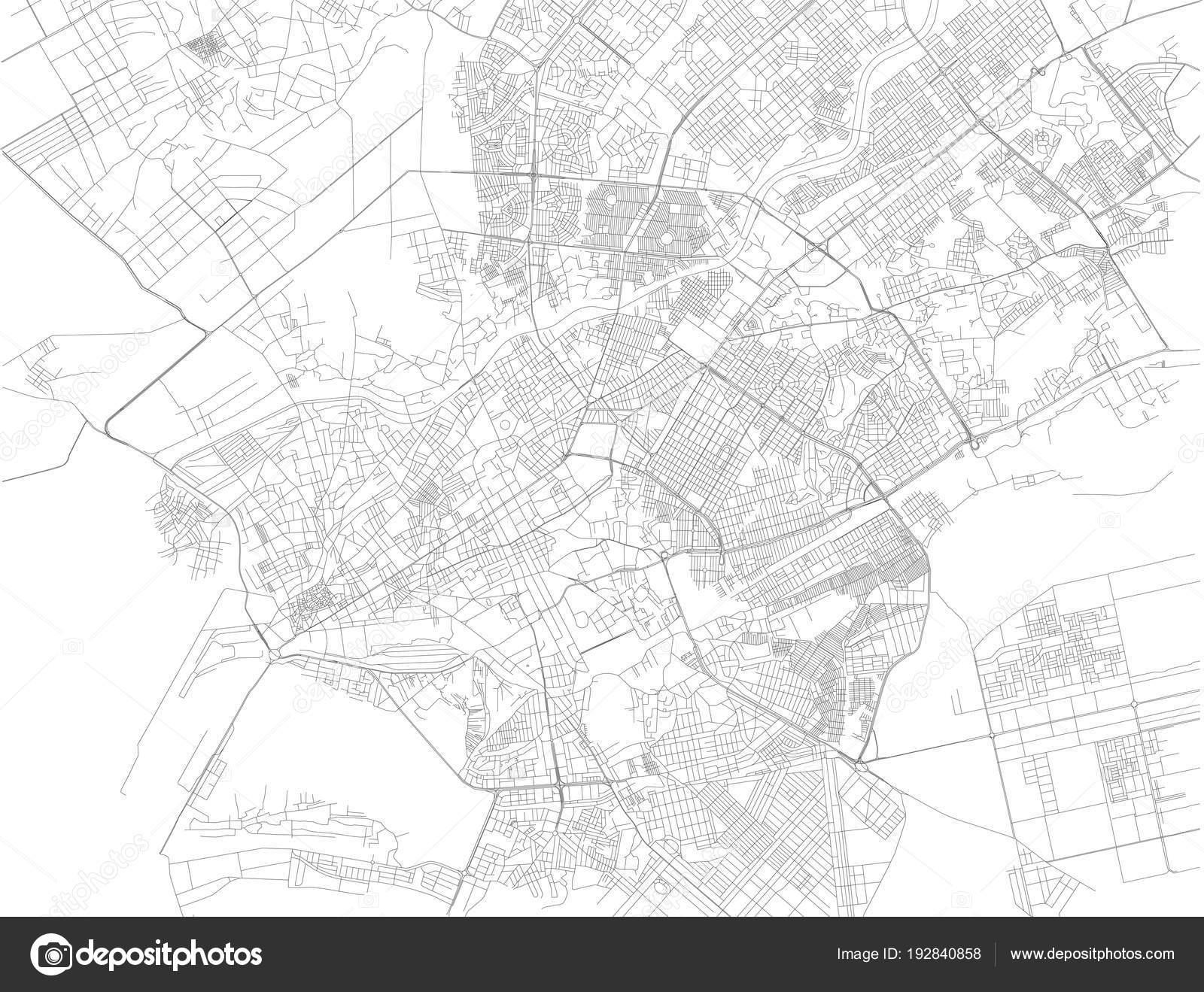 Map Of Asia Karachi.Map Karachi Capital Pakistani Province Sindh Pakistan Asia Stock